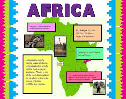 poster for school project make a poster about africa school project poster ideas