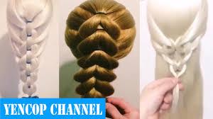 5 Peinados Faciles Y Rapidos Y Bonitos Con Trenzas P1 Yencop Hair