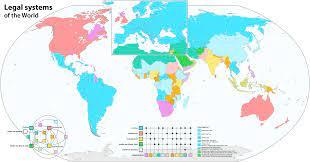 รายชื่อประเทศจำแนกตามระบบกฎหมาย - Wikiwand