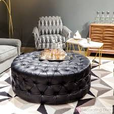 interior take a seat 25 fabulously chic benches stools ottomans you ll gorgeous round black