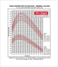 Peak Flow Chart For Adults Pdf Peak Flow Normal Values Chart What Is A Normal Peak Flow