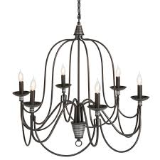 6 Light Candle Chandelier 25in 6 Light Candle Chandelier Lighting Fixture W 41in