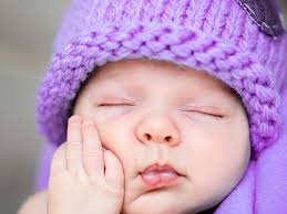 Knit A Purple Hat Help Prevent Shaken Baby Syndrome Ecouterre