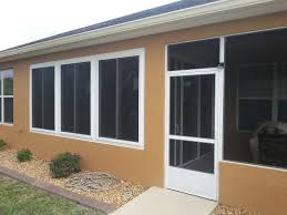 lanai conversion w insulated windows concrete hardi board and sliding glass doors