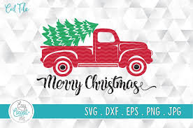 Christmas merry free vector merry christmas christmas background christmas card happy new year background xmas greeting card holiday happy vector card merry christmas free vector we have about (7,095 files) free vector in ai, eps, cdr, svg vector illustration graphic art design format. Merry Christmas Truck And Tree Svg Graphic By Easyconceptsvg Creative Fabrica