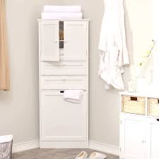 awesome white bathroom corner cabinet t for bathroom storage