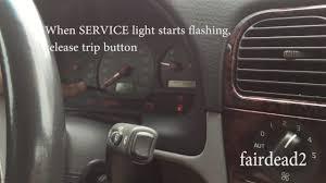 2001 Volvo S40 Service Light How To Reset Service Light In Volvo V40 S40