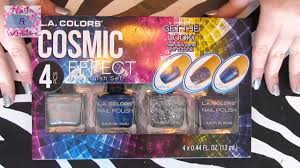 LA Colors Cosmic Effect Nail Polish Set - Nail Art Nail Polish ...