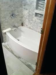 tub drain expanse 5 ft acrylic right hand curved farmhouse kohler alcove archer 60 x 30