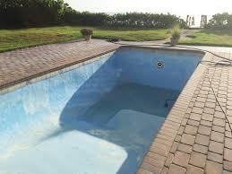 fiberglass pool blisters before
