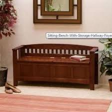 foyer furniture for storage. sitting bench with storage hallway foyer entryway furniture walnut split seat for o