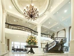 modern foyer lighting high ceiling fabrizio design gorgeous