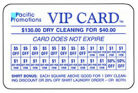 Discount Punch Card Dry Cleaning Discount Cards Vip Card How It Works