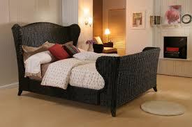 Bedroom Wood And Wicker Dresser White Wicker Queen Bed Wicker ...