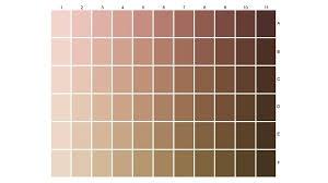 Skin Color Chart Art Www Bedowntowndaytona Com
