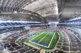 Dallas Cowboys Seating Chart With Rows At T Stadium View From Section 451 Row 2 Seat 4
