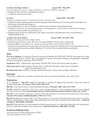 Sample Resume: Sle Resume College Teaching Assistant