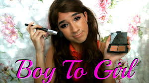 get ready with me boy to makeup transformation full body drag queen you