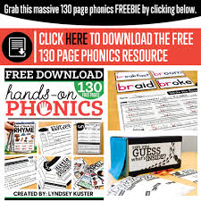 Get all these free phonics worksheets to help students become more comfortable with reading. A Fresh Guide To Teaching Phonics Free Download Lyndsey Kuster