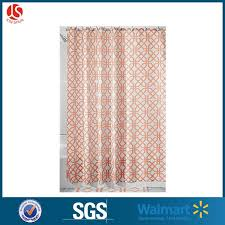 decorative natural shower curtain liner standard size with 12 hooks 72 x 72 inches