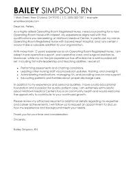 Nursing Resume Cover Letters Free Letter Samples With New Grad Nurse ...