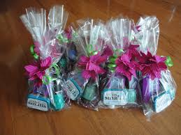 Do It Yourself Wedding Favors Design Decoration
