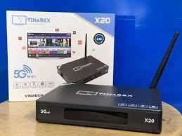 Box Tivi Smart X20 Ram 4G rom 16G cực mạnh hàng cao cấp, Tivi box mẫu mới  bán chạy