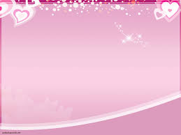 Pink Love Theme Backgrounds For Powerpoint Love Ppt Templates