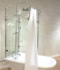 clawfoot bathtub shower curtain bathtub shower showers for bathtub glass shower for claw foot tub bathtub