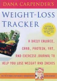 Weight Loss And Inches Tracker Dana Carpenders Weight Loss Tracker Dana Carpender 9781845430337