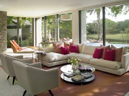 Natural Living Room Design A Living Room With Garden View Is A Creative Idea In Creating A
