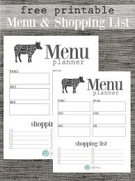 shopping list by department grocery list free printable today s creative life
