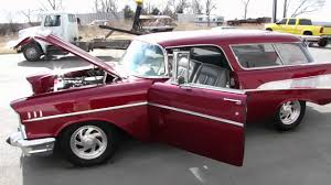 All Chevy 1957 chevy wagon for sale : 1957 Chevy Bel Air Nomad For Sale - Frame Off Restored - YouTube