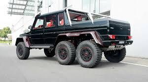 Brabus makes Mercedes-Benz G63 AMG 6x6 even more outlandish with ...