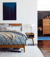 west elm bedroom furniture. Wonderful Interior And Furniture: Inspirations Enchanting Mid Century Bed Acorn West Elm Bedroom Furniture N