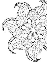Coloring Pages Free Printable Flowers Coloring Book Fun Acessorizame