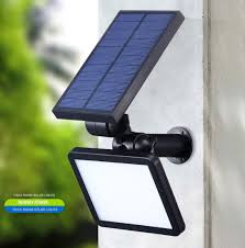 new design outdoor garden led solar wall light for ground lawn