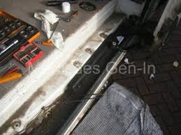 mercedes sprinter vw crafter side loading door cable management issues 3