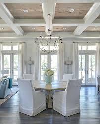 coastal design dining room ceiling with cypress trim coastal decor area rugs