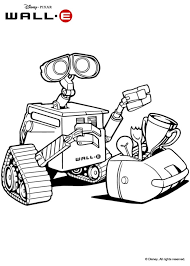 Small Picture Wall e coloring pages Hellokidscom