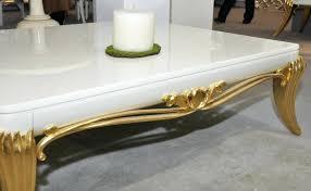 gold leaf coffee table katina gold leaf coffee table