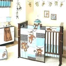 baby girl monkey crib bedding sets themed jungle luxurious home decor beautiful
