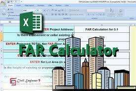 Rajuk Far Chart Download Far Calculator Floor Area Ratio Spreadsheet