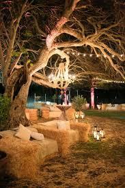 rustic wedding lighting ideas. fine lighting hay bale seating intended rustic wedding lighting ideas l