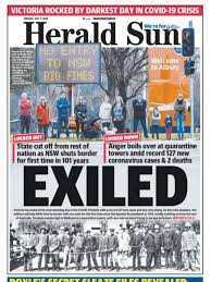 Strict lockdown measures are to be reimposed in melbourne, as authorities scramble to prevent a second wave of coronavirus infections spreading across the country. Coronavirus Victoria Lockdown Restrictions For Metropolitan Melbourne Mitchell Shire Herald Sun
