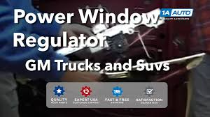 how to install replace power window regulator chevy silverado gmc  at 1999 Gmc 1500 Sle Xcab Wire Diagram