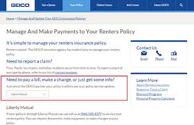 Geico Renters Insurance Quote