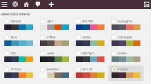 How to Change the Admin Color Scheme in WordPress 3.8