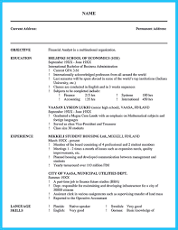 Credit Analyst Resume Example Pin On Resume Template Pinterest Resume Resume Examples And