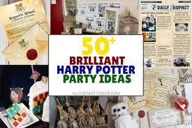 50 creative harry potter party ideas